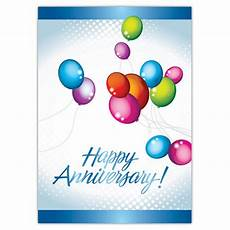 Happy Anniversary Design Vertical Happy Anniversary Greeting Card Positive
