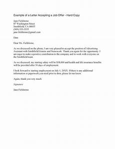 How To Write Job Acceptance Letter 40 Professional Job Offer Acceptance Letter Amp Email