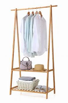folding clothes rack micro finnhomy bamboo clothes rack portable large garment