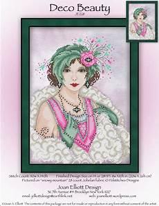 Joan Elliott Cross Stitch Charts Deco Beauty From Joan Elliott Cross Stitch Charts