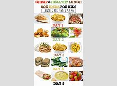 Cheap & Healthy Lunch Box Ideas For Kids   Week #3   Cheap