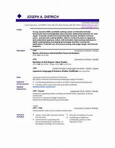 How To Create A Good Resume With No Work Experience How To Make A Good Resume