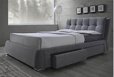 fenbrook gray king platform storage bed from coaster