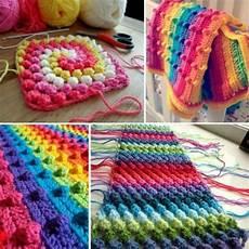 diy crochet puff stitch blanket usefuldiy