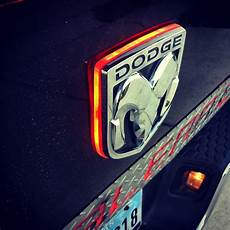 Lighted Dodge Ram Tailgate Emblem Ram Red Ye With Glowing Background Facebook