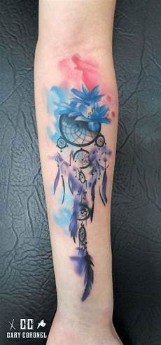 dreamcatcher watercolor wasserfarben