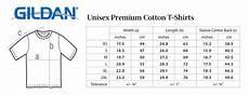 Gildan Unisex Size Chart T Shirt Size Charts In Each Hand A Cutlass