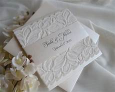 White On White Wedding Invitations Wedding Invitation Lace Wedding Invitation Gold Wedding