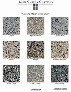 Granite Color Chart Portland Acid Stains Portland Epoxy Floor Coatings