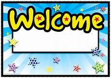 Welcome Back Poster Spotty Back To School Range
