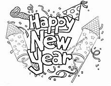 happy new year coloring pages to and print for free
