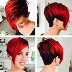 kurzhaarfrisuren frauen rote haare die 11 tollsten farben in kurzen haaren f 252 r frauen mit mut