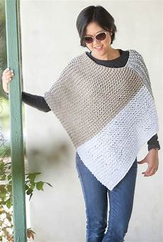 knitting poncho easy poncho knitting patterns in the loop knitting