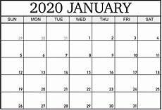 Monthly Calendar Template 2020 Word Cute January 2020 Calendar Template Word Monthly