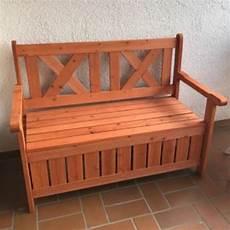 panchina per esterno panchina contenitore da esterno e cassapanca in legno per