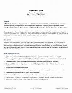 chief accountant duties senior accountant lynous
