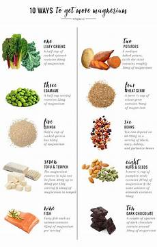 Magnesium In Foods Chart 10 Ways To Get More Magnesium And Why You Should Health