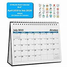 Small Desk Calendar 2020 Amazon Com Small Desk Calendar 2019 2020 Academic Year
