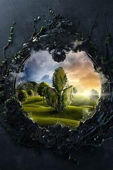 nature magic iphone wallpaper magic mirror mobile phone wallpaper