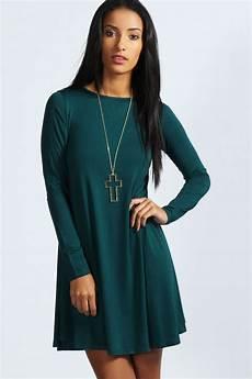 sleeve swing dress month boohoo womens april sleeve swing dress ebay