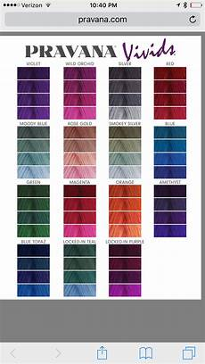 Pravana Hair Color Chart Pravana Vivids Color Chart Pravana Hair Color Hair