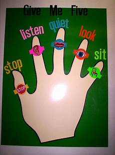 Give Me Five Rules For The Classroom Quot Give Me Five Quot Art Classroom Rules