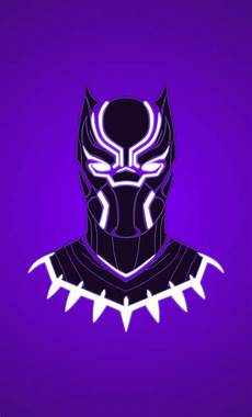 iphone 6 wallpaper black panther black panther minimal wallpaper