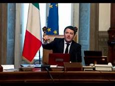 consiglio dei ministri renzi roma il presidente consiglio matteo renzi al