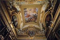 ceiling fresco in the of saturn 1663 65 fresco