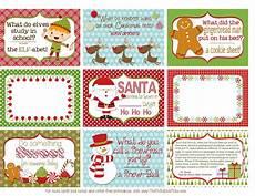 Printable Christmas Note Cards The Polka Dot Posie Printable Christmas Lunch Box Notes