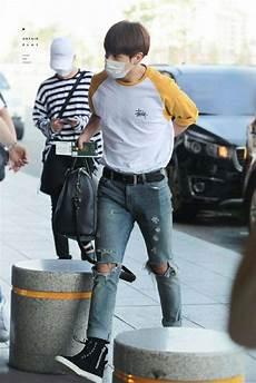 jungkook s airport fashion army s amino