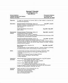 A Basic Resume Basic Resume Sample 8 Examples In Pdf Word