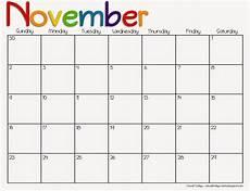 November Calendar Printable Casual Fridays Free Printable 2014 2015 Calendar