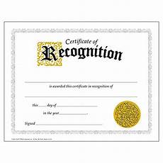 Free Template For Certificate Of Recognition Recognition Award Certificates Amazon Com
