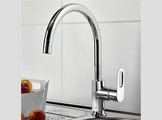 Grohe BauLoop Single lever Kitchen Sink Mixer Tap : UK Bathrooms