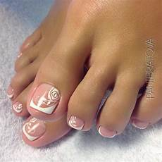 French Tip Toe Designs Over 50 Fun Toe Nail Designs To Go Crazy Over