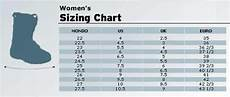 Girls Ski Size Chart Ski Hills And Ski Boots