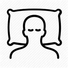 bed hospital pillow rehabilitation sleep sleeping icon