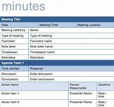 Best Minutes Of Meeting Template 15 Best Meeting Minutes Templates To Save Time