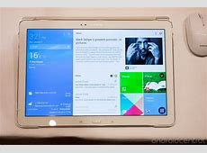 Hands on with Samsung's Galaxy Tab Pro and Galaxy Note Pro