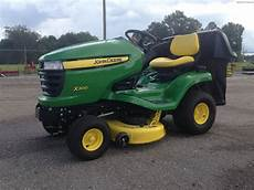 2012 deere x300 lawn garden and commercial mowing