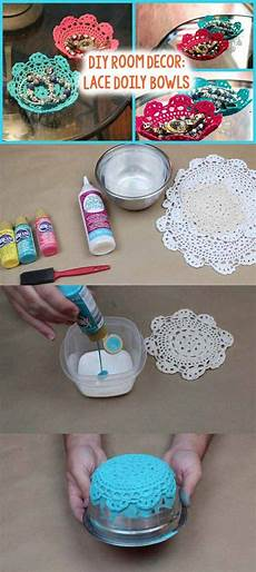 22 mesmerizing diy lace crafts to beautify your home