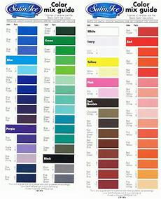Food Coloring Chart Foodcolor Mixing Chart Satin Ice Fondant Color Mixing