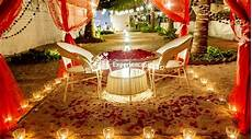 Waterside Restaurant Ahmedabad Candle Light Dinner Cabana Candlelight Dinner By The Beach Bhayander West
