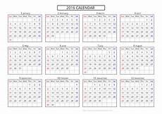 A4 Calendar Template Yearly Calendar A4 Templates Free Printable