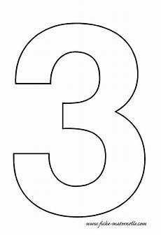 Take A Number Template Number 3 Template Crafts And Worksheets For Preschool