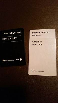 Example Of Cards Against Humanity 44 Cards Against Humanity Best Combos That Prove This Game