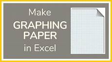 Semilog Graph Paper Excel How To Make Graph Paper In Excel Tutorial Youtube