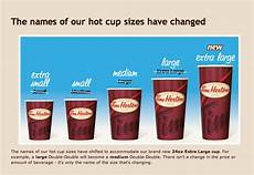 Coffee Cup Sizes Chart Lockstep On Pr Tim S Re Names Its Coffee Cup Sizes Pr Or
