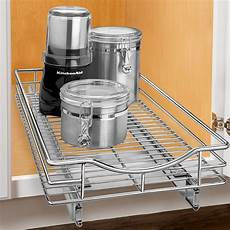 lynk lynk professional roll out cabinet organizer pull